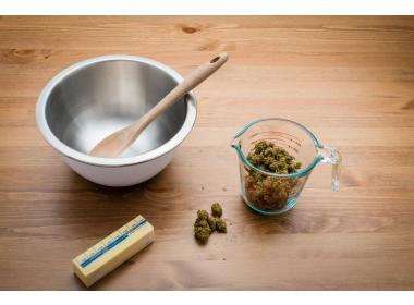 Cooking with cannabis concentrates