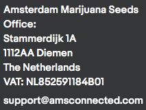 Contact Amsterdam Marijuana Seeds