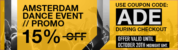 ADE PROMO - 15 percent discount - use coupon code: ADE during checkout